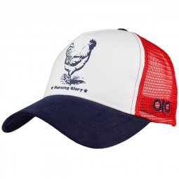 Casquette trucker Morning Glory - Coq