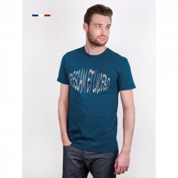 Tee-shirt col rond en coton Made in France