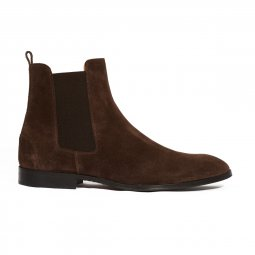 Bottine veau-velours Fischeri homme
