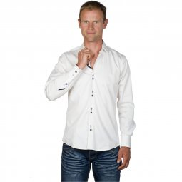 Chemise Coton Homme Blanche Andy
