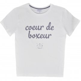 Tee-shirt Made in France Coeur de Boxeur
