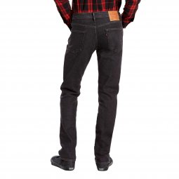 Jean 511 slim fit Levi's en coton stretch noir