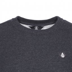 Sweat col rond Volcom Single Stone gris anthracite