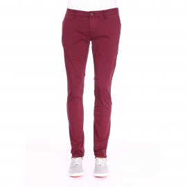 Pantalon chino Hilfiger Denim bordeaux