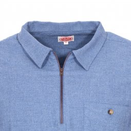 Chemise vareuse Armor Lux bleu chambray