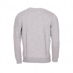 Sweat col rond Alpha Industries gris floqué