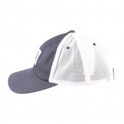 Casquette Levi's 2-Horse Patch Baseball bleu marine à empiècement en filet blanc