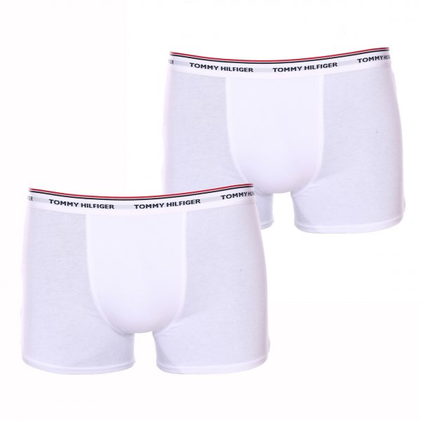 Lot de2 boxers Tommy Hilfiger junior, 2 modèles blancs