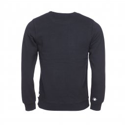 Sweat col rond Scotch & Soda en coton noir à imprimé