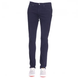 Pantalon 511 slim fit Levi's en coton stretch bleu marine