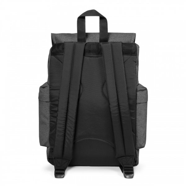 Sac à dos Austin Eastpak anthracite chiné à compartiment ordinateur 15 pouces