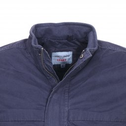 Blouson Teddy Smith Braxo bleu marine