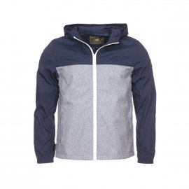 Veste zippée à capuche Element Junior Alder Light bleu marine et gris chiné