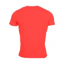 Tee-shirt col rond U.S. Polo Assn. Institutional en coton rouge brodé