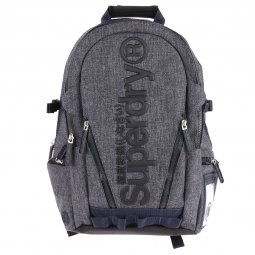 Sac à dos Superdry Legend Tarp bleu chiné