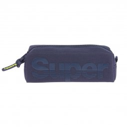 Trousse Superdry Buff Pencil Case bleu marine