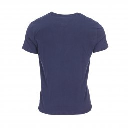 Tee-shirt col rond Tommy Jeans Retro Block bleu marine