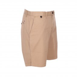 Short Tommy Hilfiger Brooklyn en coton beige