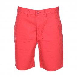 Short Levi's Straight Chino rouge