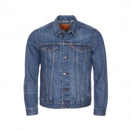 Veste Levi's Trucker The Shelf en jean bleu brut
