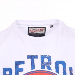 Tee-shirt col rond Petrol industries Junior en coton blanc