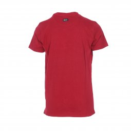 Tee-shirt col rond Petrol industries Junior en coton rouge