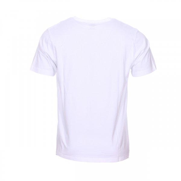 Tee-shirt col rond Dickies Brownsville en coton blanc floqué