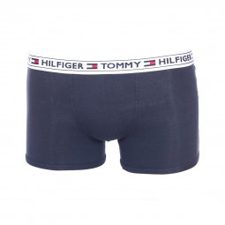 Lot de 2 boxers Tommy Hilfiger Junior en coton stretch bleu marine et blanc