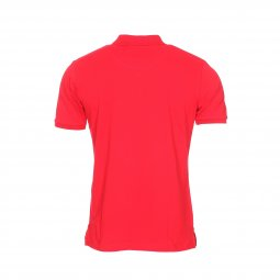 Polo Aristow Premium en coton stretch piqué rouge