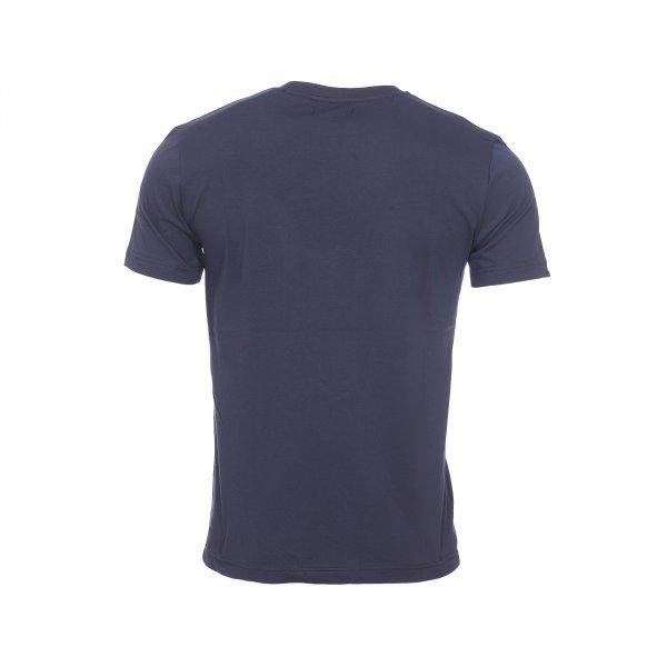 Tee shirt col rond bermudes volgan en coton bleu marine flocage blanc rue des hommes - Papier flocage tee shirt ...
