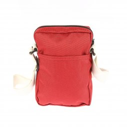 Sacoche Levi's L Series Small Cross Body en toile rouge et bandoulière beige
