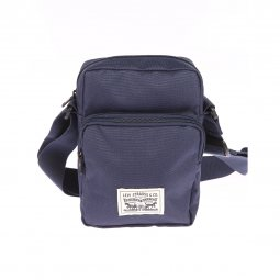 Sacoche Levi's L Series Small Cross Body en toile bleu marine
