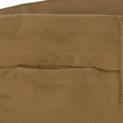 Pantalon Carhartt WIP Sid Hamilton Brown Rinsed en twill de coton stretch