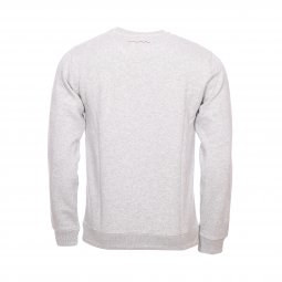 Sweat col rond Teddy Smith Sovox en molleton gris chiné