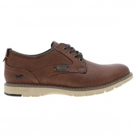 Derbies Mustang marron