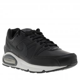 Baskets Nike Air Max Command Leather noires