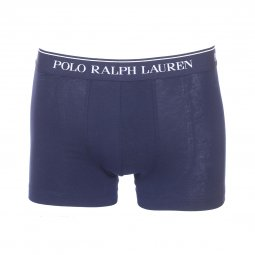 Lot de 3 boxers Polo Ralph Lauren en coton stretch bleu marine