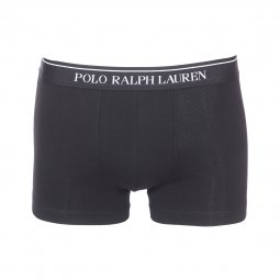 Lot de 3 boxers Polo Ralph Lauren en coton stretch noir