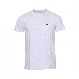 Tee-shirt col rond Lee Ultimate Pocket en coton gris chiné