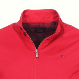 Blouson Teddy Smith Sanson 2 rouge