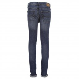 Jean skinny Teddy Smith Junior Flash en coton stretch vintage indigo