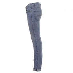 Jean skinny Teddy Smith Junior Flash en coton stretch Fripp indigo clair