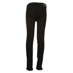 Jean super skinny Teddy Smith Junior Flash en coton stretch noir