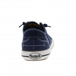 Baskets basses Dockers en toile bleu marine