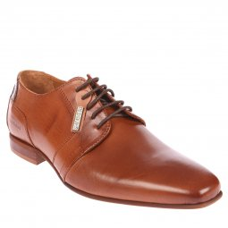 Derbies Redskins Buisal2 en cuir véritable camel