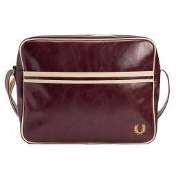 Besace Fred Perry Classic Shoulder bordeaux