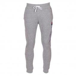 ef503efa8803b Pantalon de jogging Champion en coton gris chiné à logo en bouclettes ...