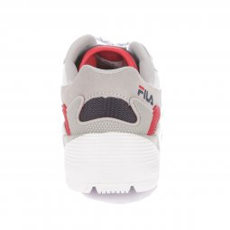 Baskets Fila Jogger Low blanches, rouges, grises et bleu marine