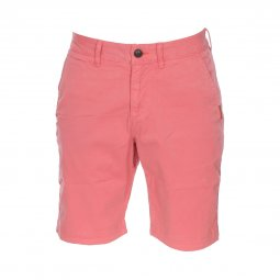 Short Superdry International Chino en coton stretch rose