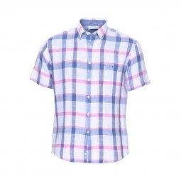 eb88fd3a20e8c0 Chemise Couleur Blanc Carreaux : toute la collection de Chemises ...